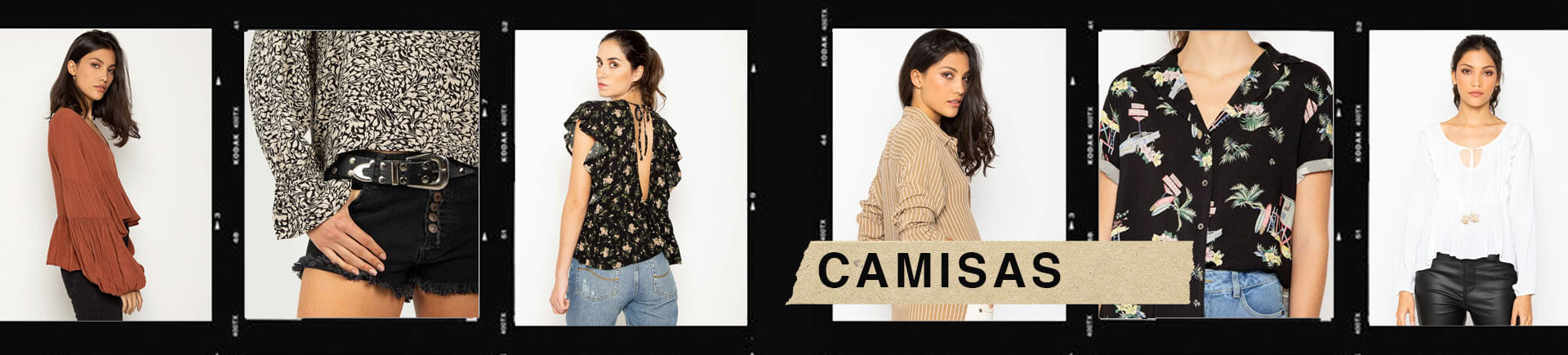 Camisas Mujer Color Blue