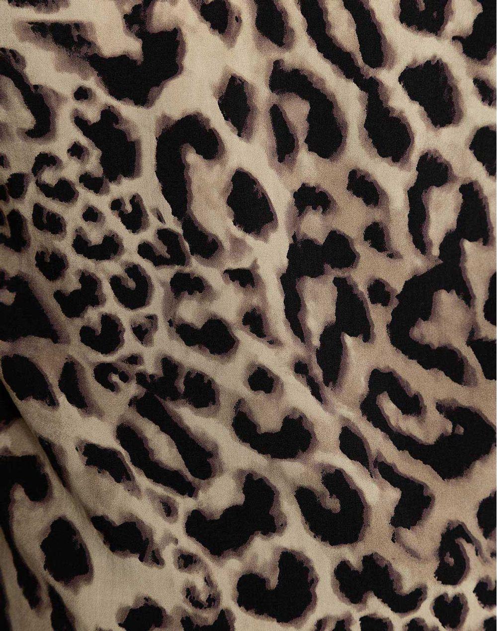 Camisa Tiras Animal Print